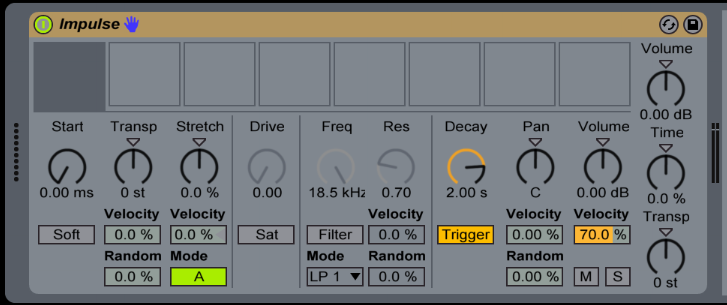 Ableton Live Impulse Drum rack trucos utiles Capitulo 3 1 1 - Tutorial Ableton Live: Impulse y Drum rack, trucos útiles. Capítulo 3