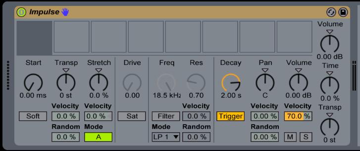 Ableton Live Impulse Drum rack trucos utiles Capitulo 3 1 1 - Tutorial Ableton Live: Impulse y Drum rack, trucos útiles. Capítulo 3