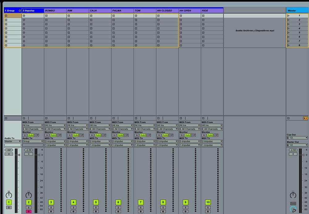 Ableton  Impulse y Drum rack trucos útiles 13 - Tutorial Ableton Live: Impulse y Drum rack, trucos útiles. Capítulo 1