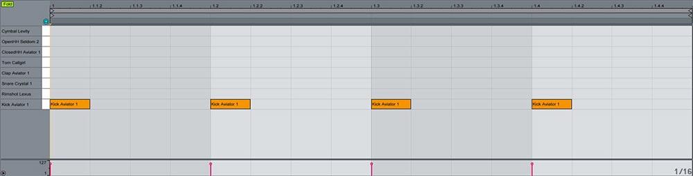 Ableton  Impulse y Drum rack trucos útiles 4