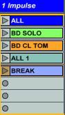 Ableton  Impulse y Drum rack trucos útiles 6