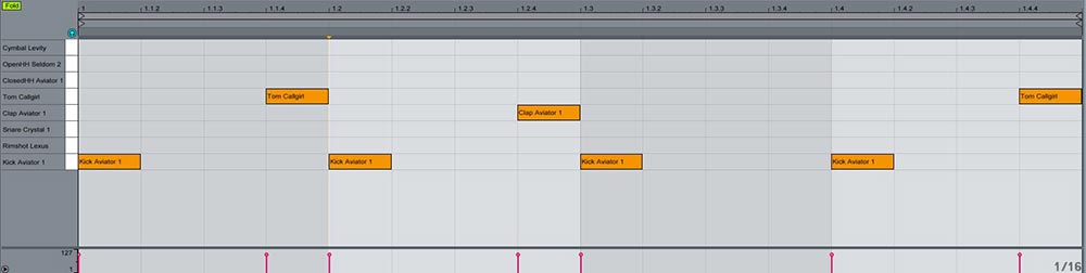 Ableton  Impulse y Drum rack trucos útiles 7
