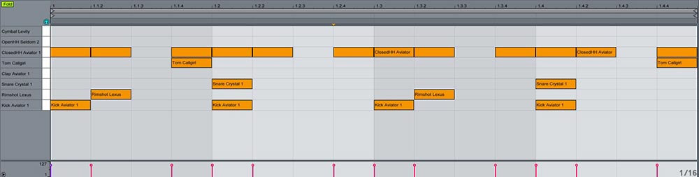 Ableton  Impulse y Drum rack trucos útiles 8