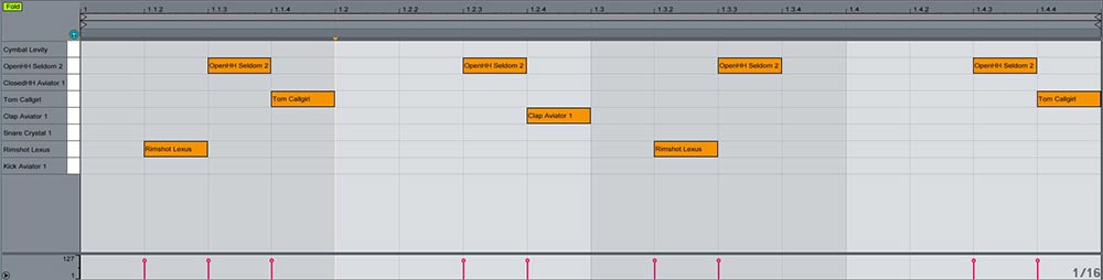 Ableton  Impulse y Drum rack trucos útiles 9