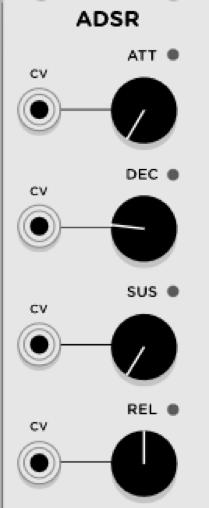 Sintesis Sustractiva Basica VCV RACK 25 - Síntesis Sustractiva Básica en VCV RACK
