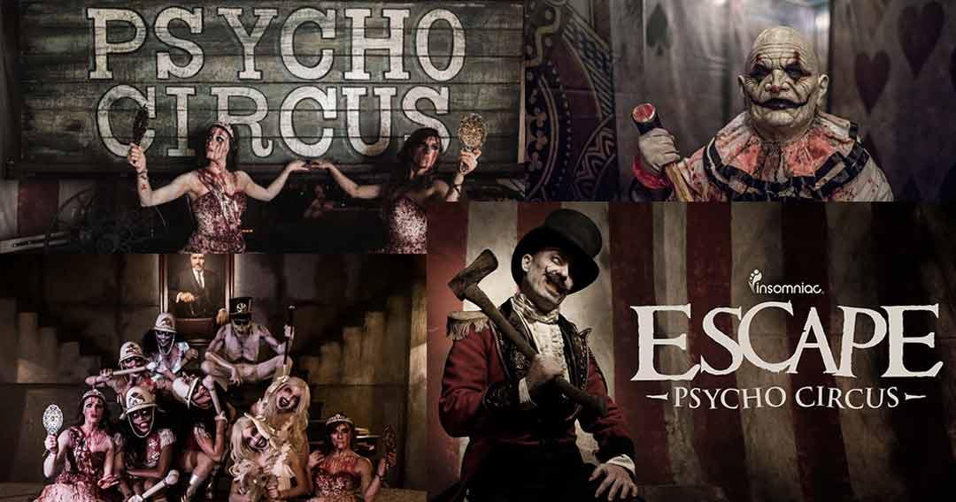 escape circus horror festival