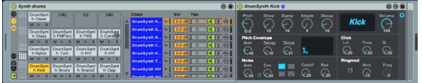 max for live drum rack 02 - Tutorial Max For Live : Drum Rack