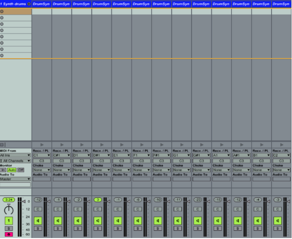 max for live drum rack 03 - Tutorial Max For Live : Drum Rack