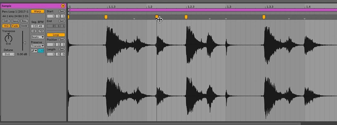 thebassvalley warping ableton 10 - Tutorial Ableton Live. Warping