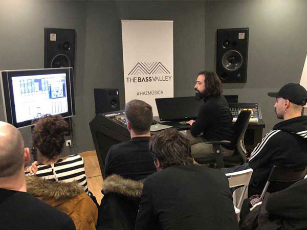 thebassvalley instalaciones masterclass 03 - The Room