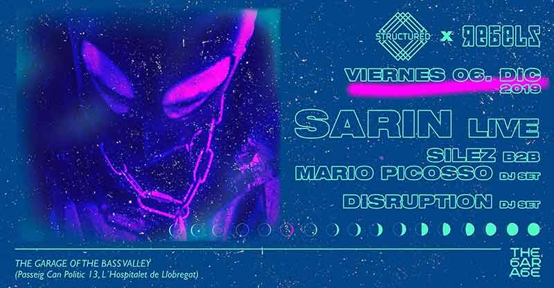 the garage rebels x structured with sarin - The Bass Valley