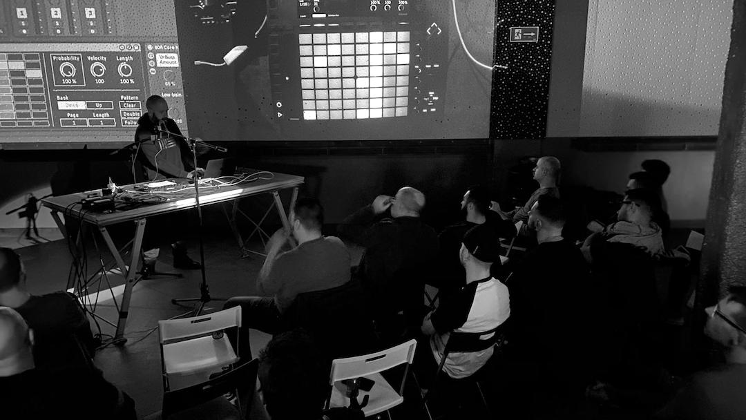 SSPK3446 - Masterclass Ableton Live: Push y Max for Live. Así fue