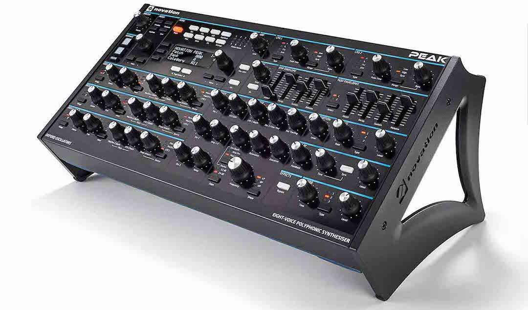 Sintetizador Novation Peak - The Bass Valley prueba el sintetizador Novation Peak