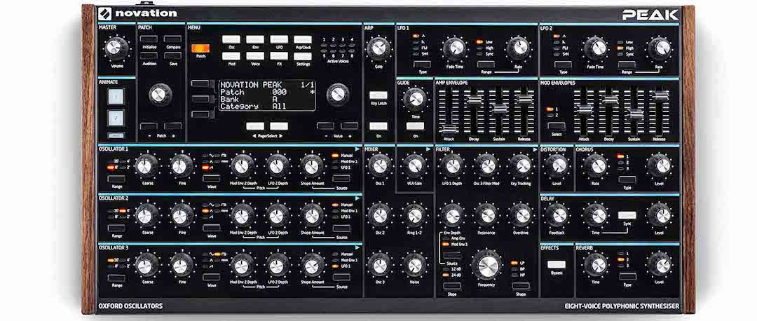 Sintetizador híbrido Novation Peak - Probamos el nuevo Novation Peak Wavetable Editor