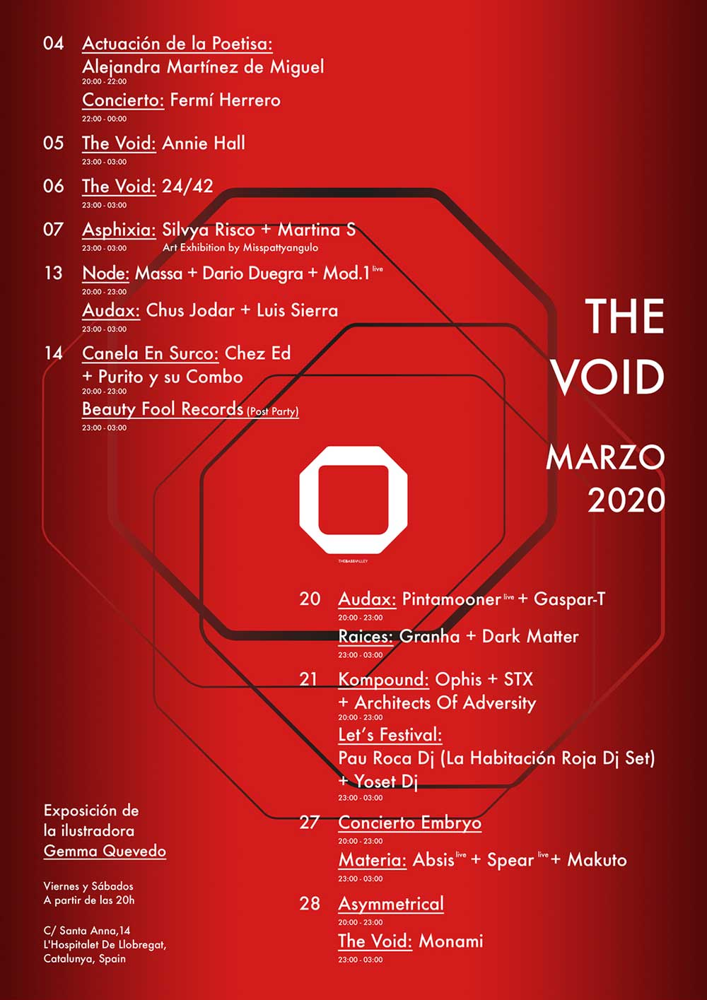 thebassvalley thevoid marzo2020 - The Void Bar