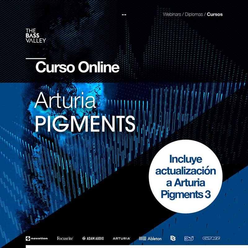 curso arturia pigments tbv c