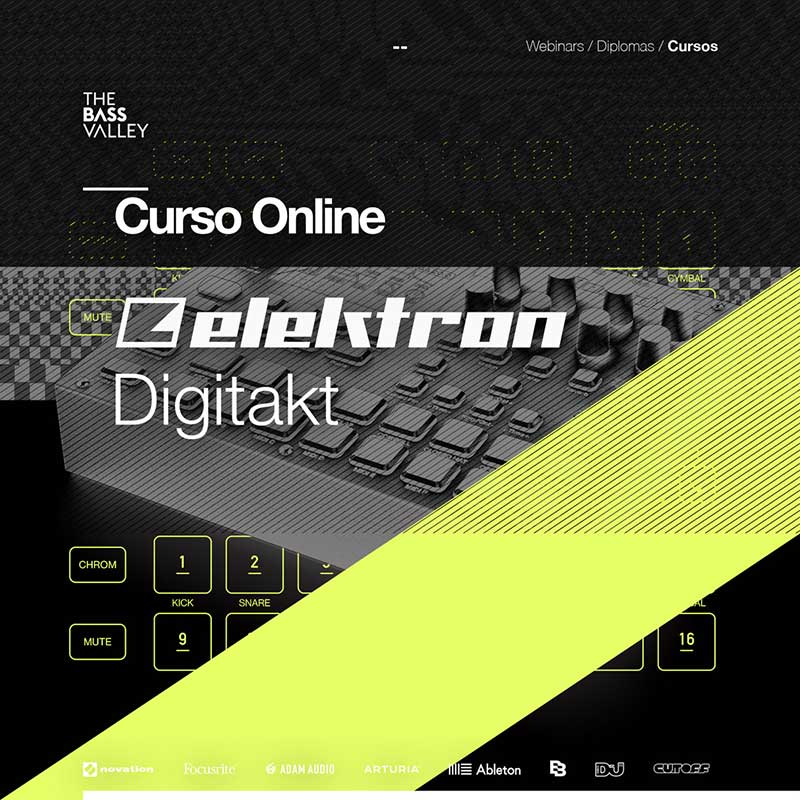 thebassvalley curso online digitakt
