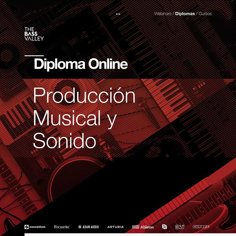 thebassvalley curso online diploma - The Bass Valley