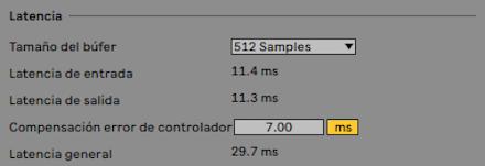 Captura de pantalla 2020 08 24 a las 10.57.51 - Tutorial. Corrección de latencia de entrada en Ableton Live