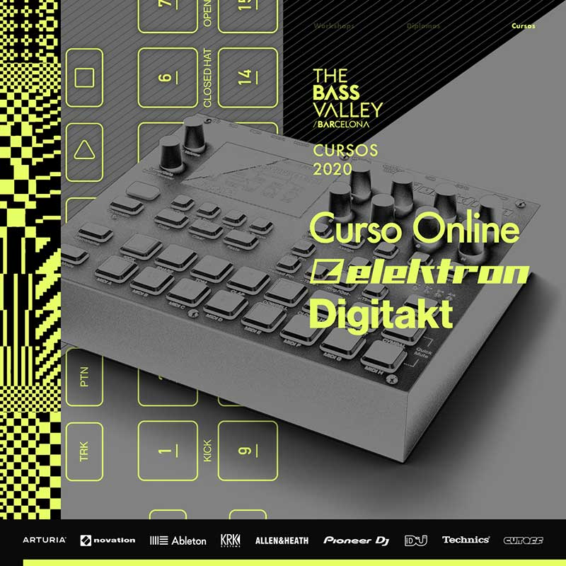 thebassvalley elektron digitakt c