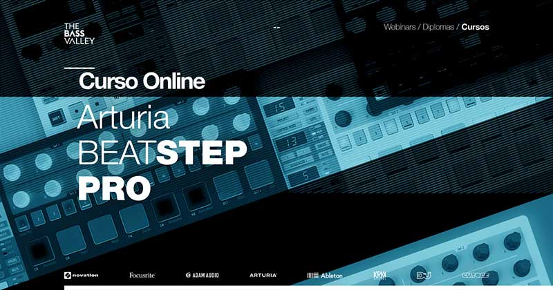 thebassvalley arturia beatstep r - Curso Online Arturia BeatStep Pro