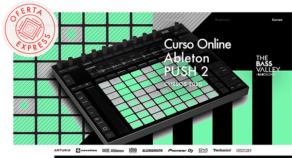 thebassvalley push r oe24 1 - Curso Online Ableton Push 2 OFERTA EXPRESS