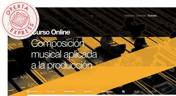 thebassvallet oferta express composicion - Curso Online Composición Musical Aplicada a la Producción OFERTA EXPRESS