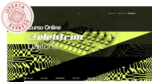 thebassvalley oferta express digitone - Curso Online Elektron Digitone OFERTA EXPRESS