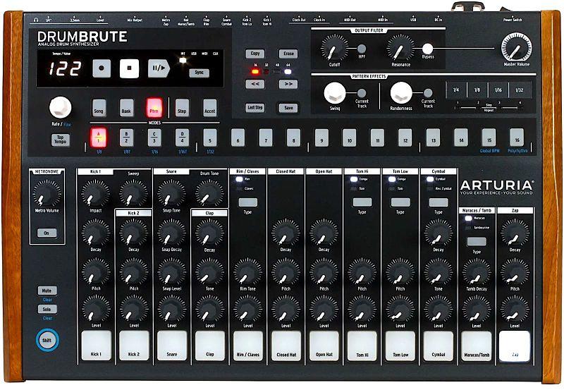 1ARTURIADRUMBRUTE opt - Home Studio. 5 Cajas de ritmo muy recomendables