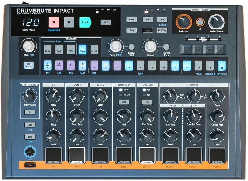 Arturia DrumBrute Impact 2 opt - Home Studio. 5 Cajas de ritmo muy recomendables