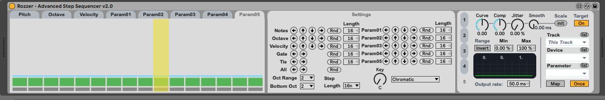 Captura de pantalla 2021 03 22 a las 12.39.09 - Tutorial Max for Live. Rozzer Advanced Step Sequencer