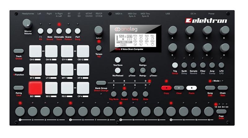 elektron analog rytm 73416 opt - Home Studio. 5 Cajas de ritmo muy recomendables