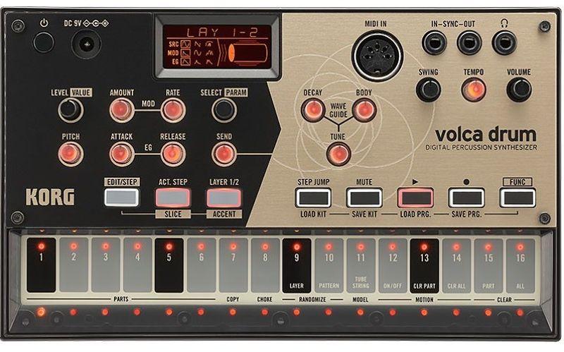 korg volca drum opt - Home Studio. 5 Cajas de ritmo muy recomendables