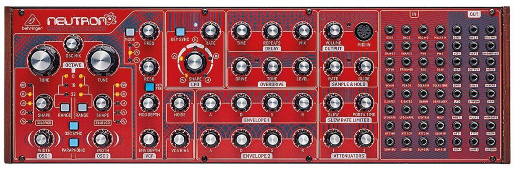 thebassvalley neutron e1615979304518 1024x340 - Home Studio. 5 Sintetizadores Buenos Bonitos y Baratos