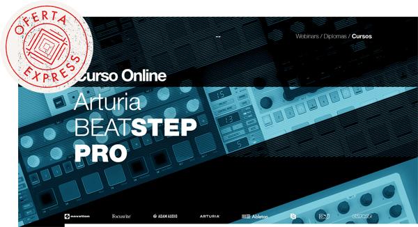 thebassvalley oferta express beatstep - Curso Online Arturia BeatStep OFERTA EXPRESS