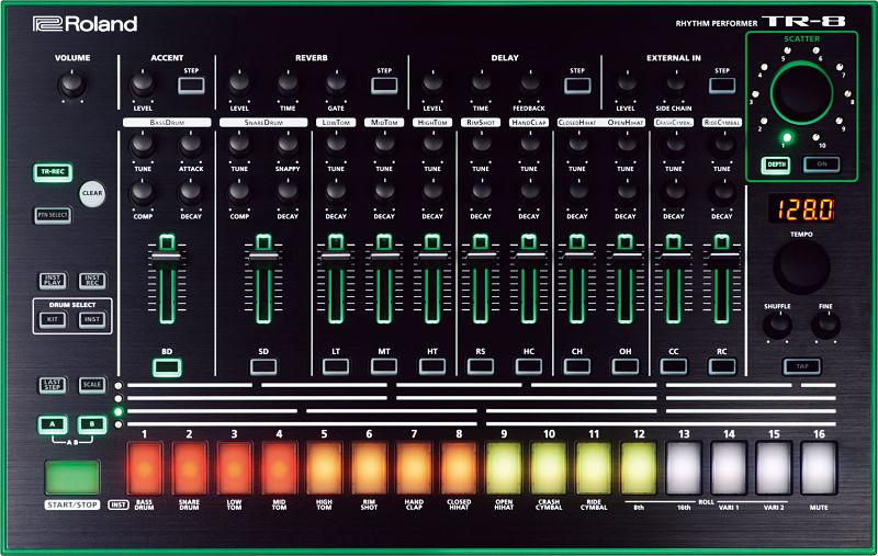 tr 8 top gal opt - Home Studio. 5 Cajas de ritmo muy recomendables
