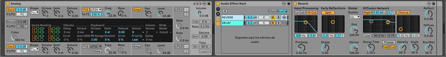 Efectos en paralelo - Home Studio. Efectos de audio y guía práctica de uso