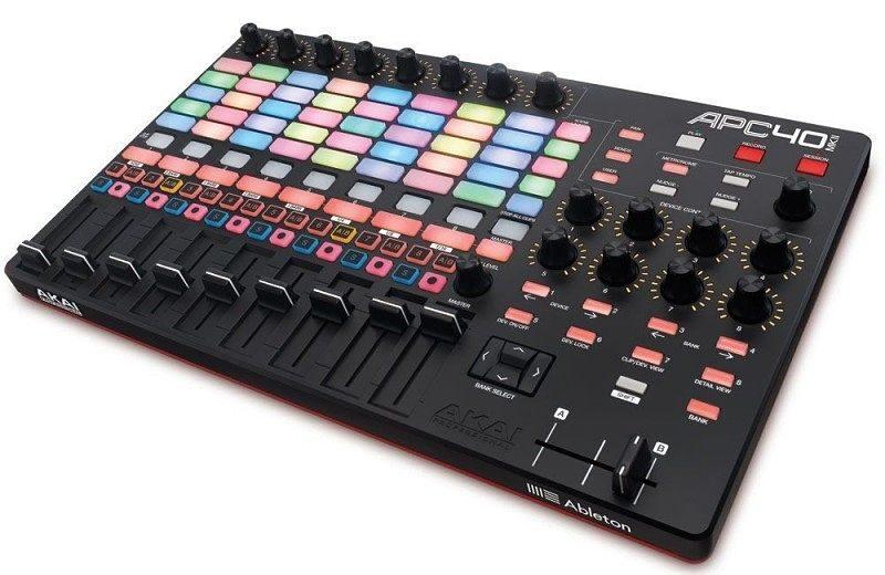 akai apc 40 mk2 opt e1618407586769 - Home Studio. 3 Tipos de controladores para tu DAW