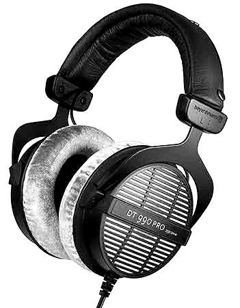 auriculares de estudio BEYERDYNAMIC DT 990 PRO 1 blackwhite 1 - Home Studio. Recomendamos 5 auriculares de estudio