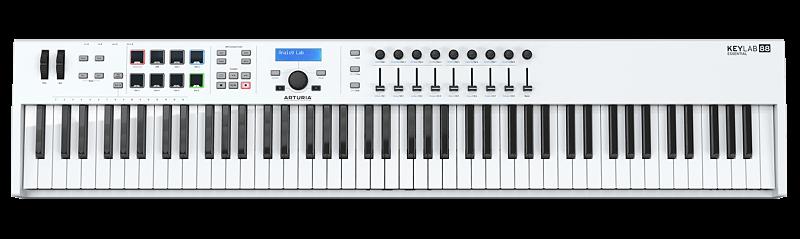 keylab essential 88 image opt - Home Studio. 3 Tipos de controladores para tu DAW