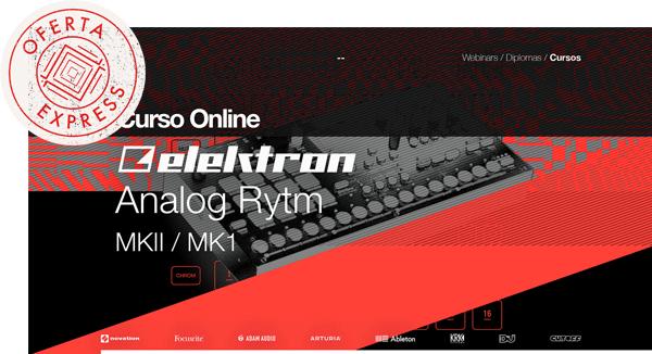 thebassvalley analog rytm oferta express - Curso Online Elektron Analog Rytm MKII / MK1 OFERTA EXPRESS