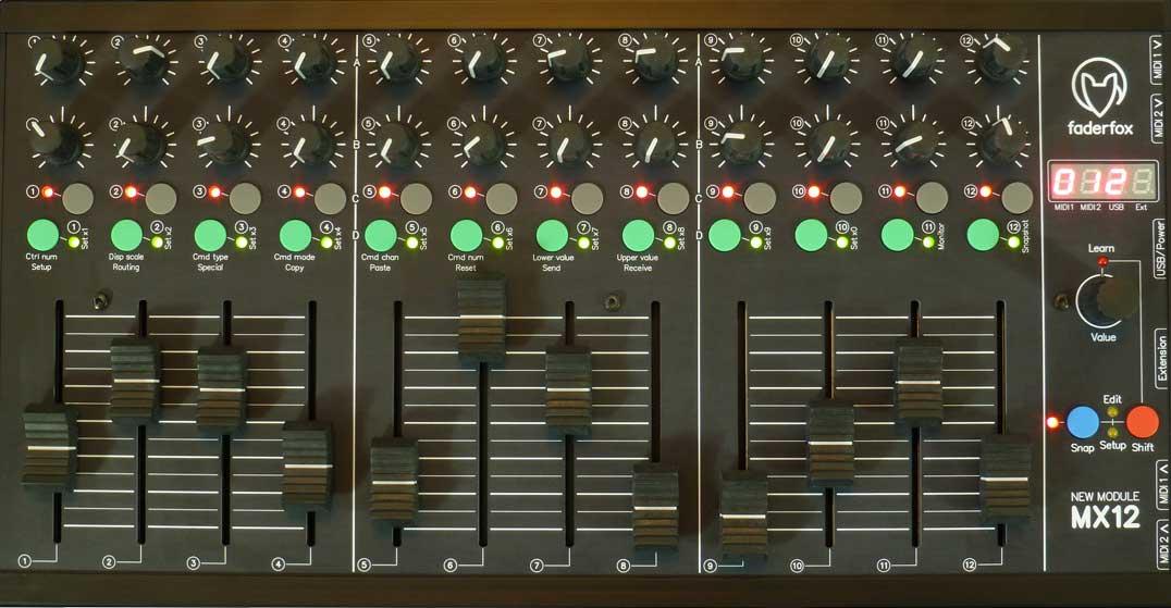 thebassvalley faderfox mx12 - Home Studio. 3 Tipos de controladores para tu DAW