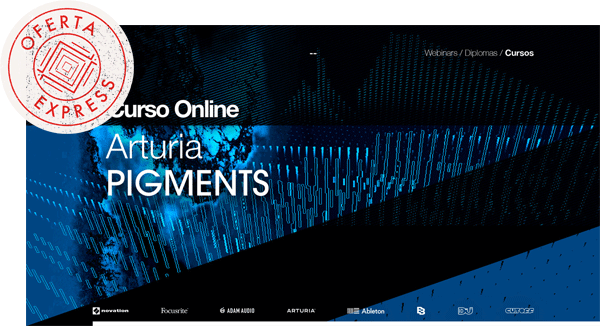 thebassvalley pigments oferta express - Curso Arturia Pigments OFERTA EXPRESS