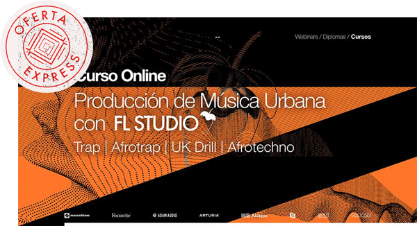 curso de produccion de musica urbana - Curso Producción de Música Urbana OFERTA EXPRESS