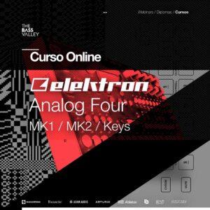 curso elektron analog four c 300x300 - Curso Elektron Analog Four MKII / MK1 / Keys