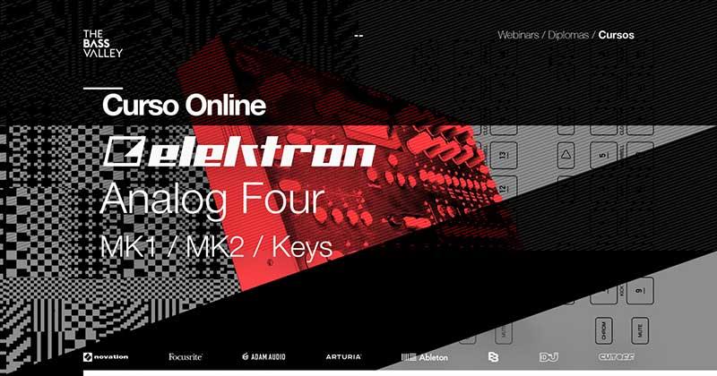 curso elektron analog four r - Curso Elektron Analog Four MKII / MK1 / Keys