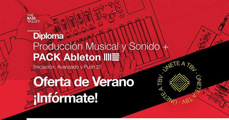 diploma oferta verano - Diploma de Producción Musical y Sonido + Pack Ableton